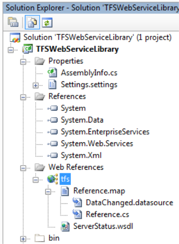Autogenerating Tests for Web Services using Visual Studio