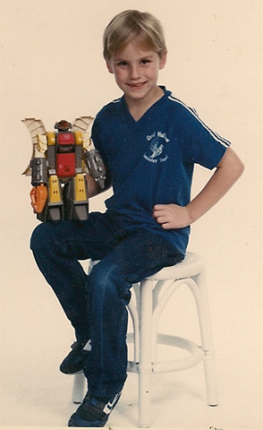 Yes, me and a transformer
